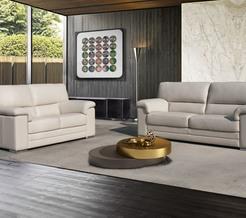Model 163 verkrijgbaar in verschillende stoffen alsook in verschillende kleuren leder.